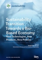 Special issue Sustainability Transition Towards a Bio-Based Economy: New Technologies, New Products, New Policies book cover image