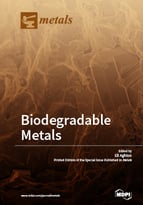 Special issue Biodegradable Metals book cover image