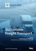 Special issue Sustainable Freight Transport book cover image