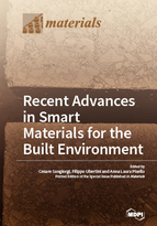 Special issue Recent Advances in Smart Materials for the Built Environment book cover image