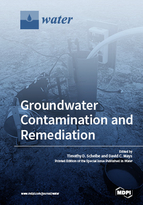Special issue Groundwater Contamination and Remediation book cover image