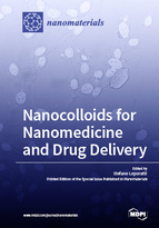 Special issue Nanocolloids for Nanomedicine and Drug Delivery book cover image