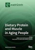 Special issue Dietary Protein and Muscle in Aging People book cover image