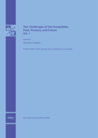 Special issue The Challenges of the Humanities, Past, Present, and Future - Volume 1 book cover image
