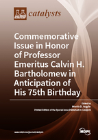 Commemorative Issue in Honor of Professor Emeritus Calvin H. Bartholomew in Anticipation of His 75th Birthday