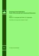 Special issue Governing Forest Restoration: Social, Environmental and Institutional Dimensions book cover image