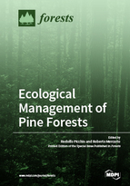 Special issue Ecological Management of Pine Forests book cover image