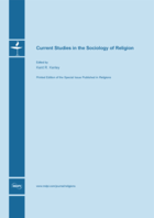 Special issue Current Studies in the Sociology of Religion book cover image