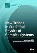 Special issue New Trends in Statistical Physics of Complex Systems book cover image