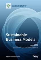 Special issue Sustainable Business Models book cover image