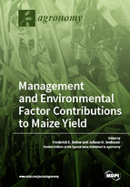 Special issue Environmental and Management Factor Contributions to Maize Yield book cover image