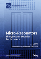 Special issue Micro-Resonators: The Quest for Superior Performance book cover image