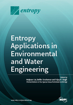 Special issue Entropy Applications in Environmental and Water Engineering book cover image