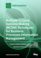 Special issue Multiple-Criteria Decision-Making (MCDM) Techniques for Business Processes Information Management book cover image