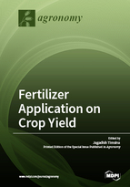 Special issue Fertilizer Application on Crop Yield book cover image