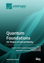 Special issue Quantum Foundations: 90 Years of Uncertainty book cover image