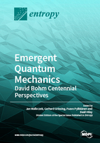Special issue Emergent Quantum Mechanics – David Bohm Centennial Perspectives book cover image