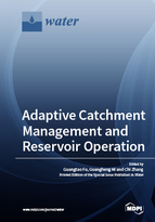 Special issue Adaptive Catchment Management and Reservoir Operation book cover image