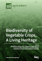 Special issue Biodiversity of Vegetable Crops, A Living Heritage book cover image