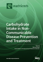 Special issue Carbohydrate Intake in Non-communicable Disease Prevention and Treatment book cover image
