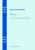 Special issue Music and Spirituality book cover image