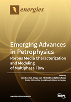 Special issue Emerging Advances in Petrophysics: Porous Media Characterization and Modeling of Multiphase Flow book cover image