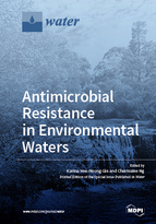 Special issue Antimicrobial Resistance in Environmental Waters book cover image