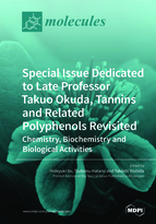 "Special issue Special Issue Dedicated to Late Professor Takuo Okuda, ""Tannins and Related Polyphenols Revisited: Chemistry, Biochemistry and Biological Activities"" book cover image"