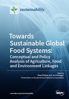 Special issue Towards Sustainable Global Food Systems :  Conceptual and Policy Analysis of Agriculture, Food and Environment Linkages book cover image