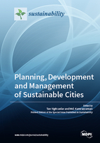 Special issue Planning, Development and Management of Sustainable Cities book cover image