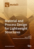 Special issue Material and Process Design for Lightweight Structures book cover image