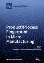 Special issue Product/Process Fingerprint in Micro Manufacturing book cover image