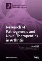 Special issue Research of Pathogenesis and Novel Therapeutics in Arthritis book cover image