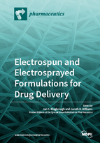 Special issue Electrospun and Electrosprayed Formulations for Drug Delivery book cover image