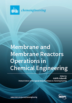 Special issue Membrane and Membrane Reactors Operations in Chemical Engineering book cover image
