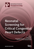 Special issue Neonatal Screening for Critical Congenital Heart Defects book cover image