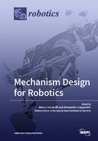 Special issue Mechanism Design for Robotics book cover image