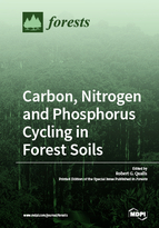 Special issue Carbon, Nitrogen and Phosphorus Cycling in Forest Soils book cover image