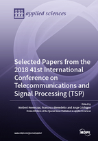 Special issue Selected Papers from the 2018 41st International Conference on Telecommunications and Signal Processing (TSP) book cover image