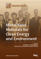 Special issue Micro/Nano Materials for Clean Energy and Environment book cover image