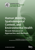 Special issue Human Mobility, Spatiotemporal Context, and Environmental Health: Recent Advances in Approaches and Methods book cover image
