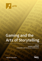Special issue Gaming and the Arts of Storytelling book cover image