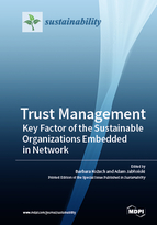 Trust Management: Key Factor of the Sustainable Organizations Embedded in Network
