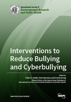 Special issue Interventions to Reduce Bullying and Cyberbullying book cover image