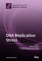 Special issue DNA Replication Stress book cover image