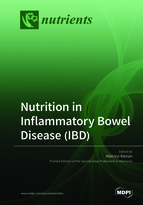Special issue Nutrition in Inflammatory Bowel Disease (IBD) book cover image