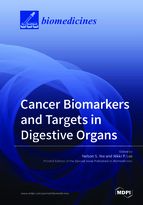 Special issue Cancer Biomarkers and Targets in Digestive Organs book cover image