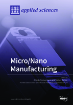Special issue Micro/Nano Manufacturing book cover image