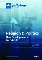 Special issue Religion and Politics: New Developments Worldwide book cover image