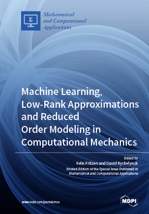 Machine Learning, Low-Rank Approximations and Reduced Order Modeling in Computational Mechanics